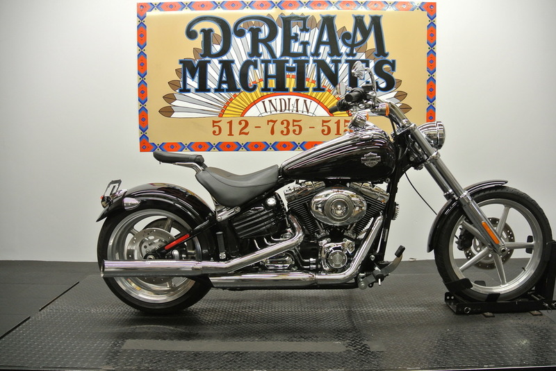 $10,861, 2008 Harley-Davidson FXCWC Softail Rocker C *Low Miles*