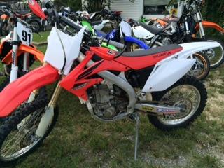 $2,200, 2007 Honda CRF450R
