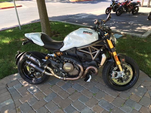 $12,350, 2014 Ducati Monster 1200 S