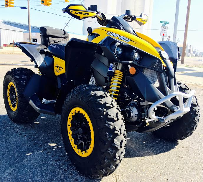 $10,999, 2012 Can-Am Renegade 1000 X xc