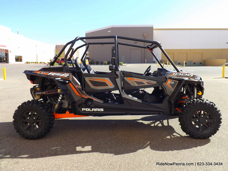 2014 Polaris Rzr Xp 4 1000 Eps Titanium Matte Metallic In